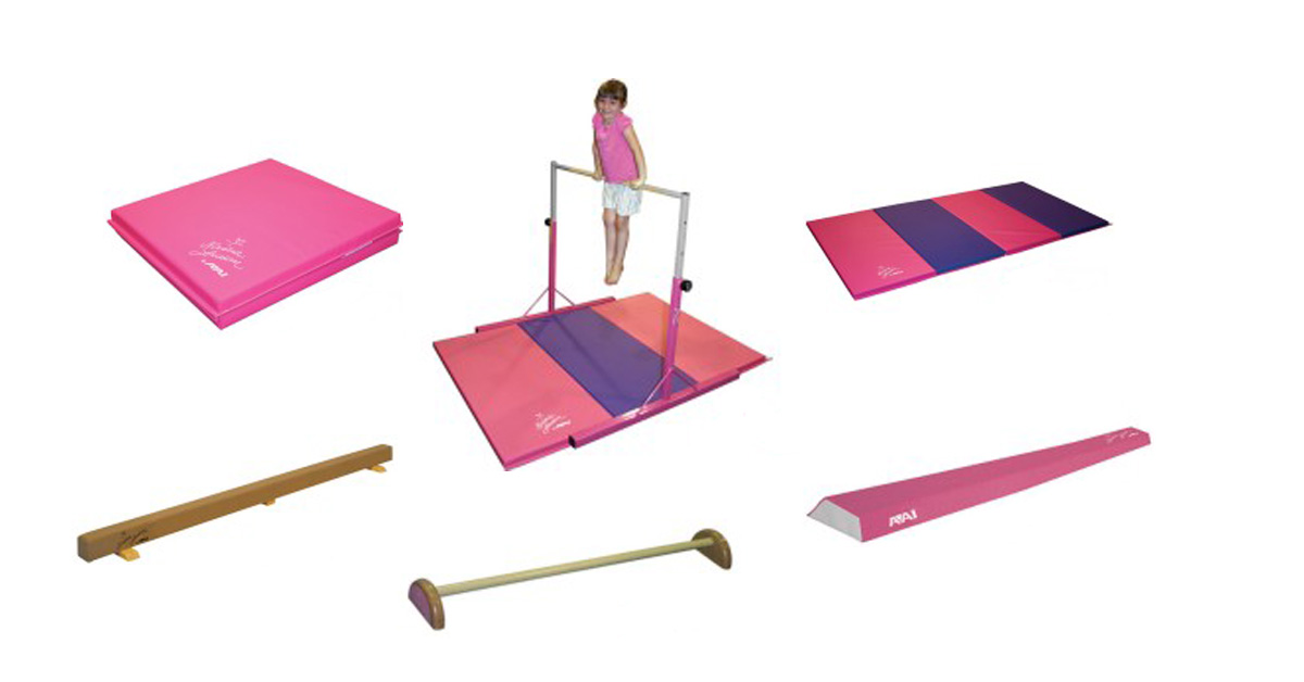 Nastia Liukin gymnastics equipment